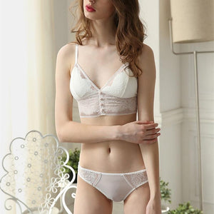 The New French bralette Gather together No rims Thin section Slimdresskily-dresskily