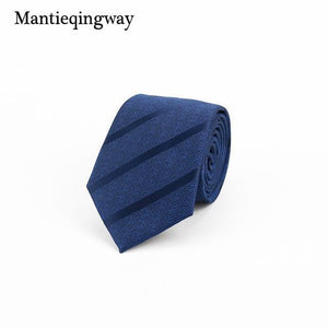 7cm Mens Tie Accessories Formal Business Necktie Slim Ties Wedding Stripeddresskily-dresskily
