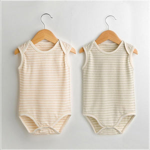 2018 Baby bodysuit summer newborn Outfits Baby girl boy clothes Organic cottondresskily-dresskily