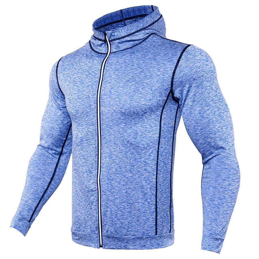 Zipper Design Hoodies Men Bodybuilding Sportswear Sweatshirts Brand Clothing Tracksuits Long Sleevedresskily-dresskily