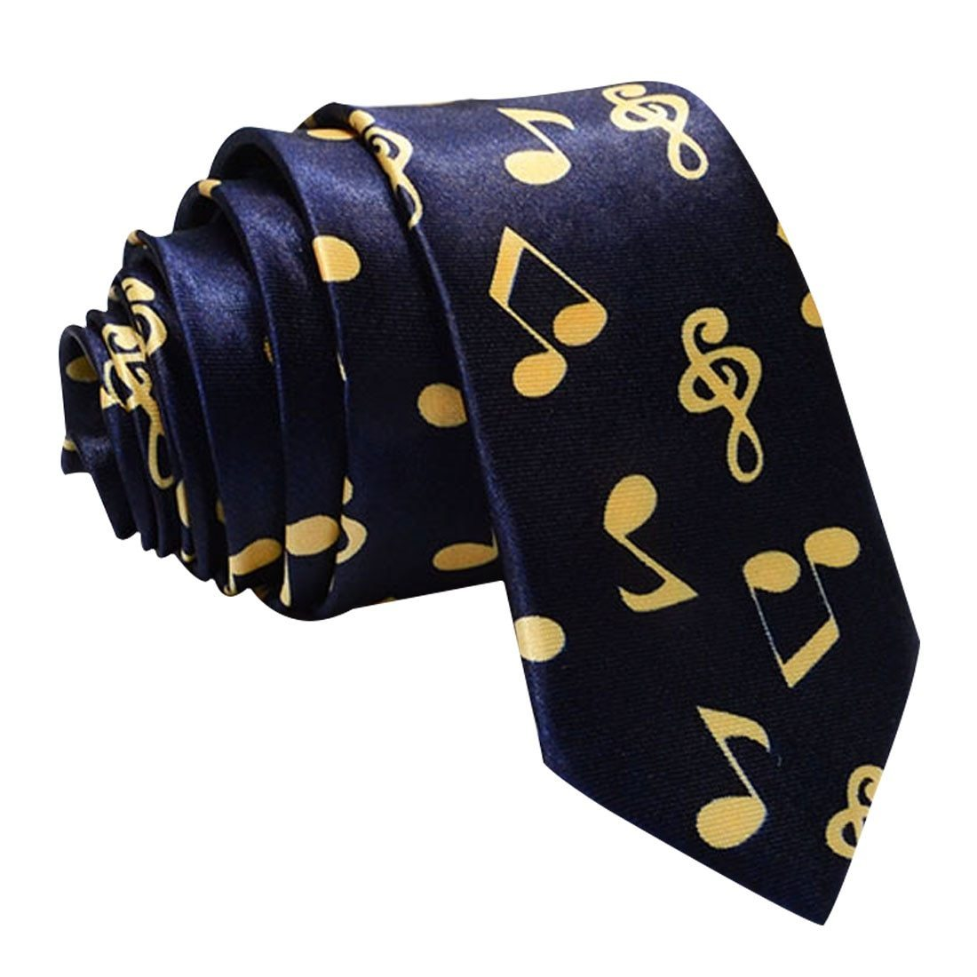 Charming 5cm Music Note Ties Musical Tie Music Notes Music Score Sounddresskily-dresskily