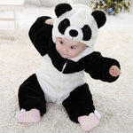 2018 Newborn Baby Boy Girl Rompers Animal Panda One Piece Long Sleevedresskily-dresskily