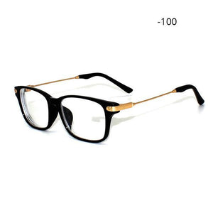 Transparent Spectacles for Myopia Antistress Glasses To View Shortsightedness Optics Frame -100dresskily-dresskily