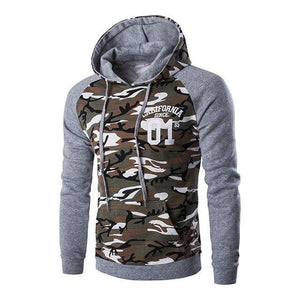 New Letskeep mens camouflage pullover hoodies casual slim hooded sweatshirts men hipdresskily-dresskily