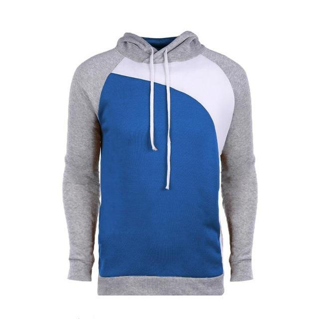 Men's Sweatshirt Autumn Spring Casual Pullovers Male Long Sleeve Hooded Cotton Softdresskily-dresskily