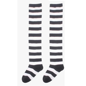 Beautiful Elf Striped Christmas Fancy Long Socks Socks Knee Legs Thindresskily-dresskily