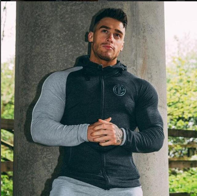 Men's Loose coat Singlets Sweatshirts Mens Hoodies Stringer Bodybuilding Fitness Shirtsdresskily-dresskily