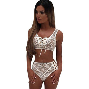 2017 women underwear set Transparent bra and briefs New lace bradresskily-dresskily
