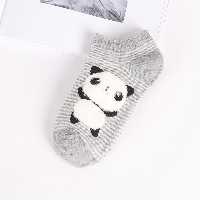 women cotton socks Cute animal Striped Women Socks Creative Casual Funny Socksdresskily-dresskily