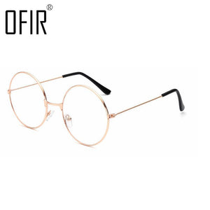Men Women Comfortable Glasses Retro Frames Optical Frames Computer Glasses Framedresskily-dresskily
