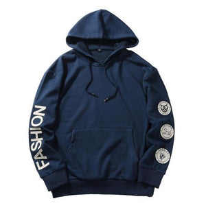 2018 Fashion Brand Men Hoodie Sweatshirt Spring Autumn Long Sleeve Mendresskily-dresskily