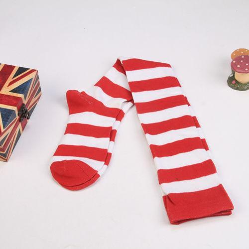 HOT Fashion Stockings New Women's Sheer Striped Stockings Female Clothes Thigh Highdresskily-dresskily