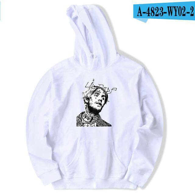 Lil Peep Hoodies Men Casual Fleece Loose New European Style Hoodies Comfortabledresskily-dresskily