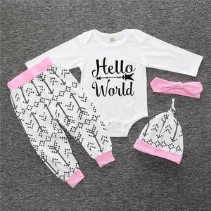 2018 New baby girl clothing set Christmas style baby suit long-sleeved romperdresskily-dresskily