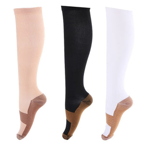 Unisex Anti-Fatigue Compression Socks Foot Anti Fatigue Soft Pain Relief Miracle Copperdresskily-dresskily