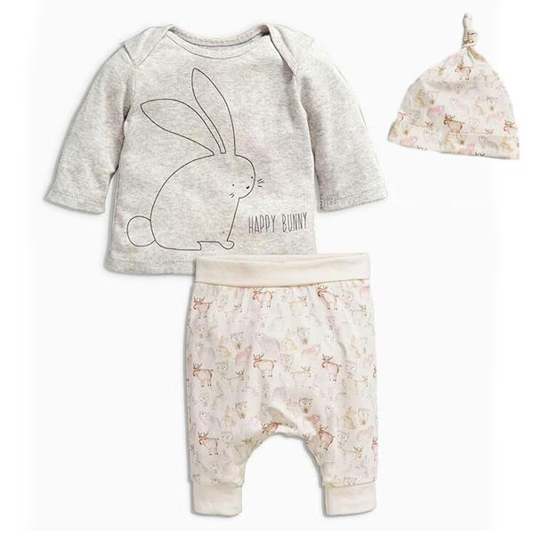 Newborn Baby Girl Clothes Baby Boys Clothing Sets Autumn Bunny Newdresskily-dresskily