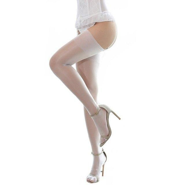 Sexy Lingerie For Women Sexy Retro Nylon Stockings Female Oil Flashing Non-elasticdresskily-dresskily