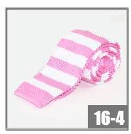 Mens ties Polyester Knit neckties for men Brand fashion Striped Knitted Neckdresskily-dresskily