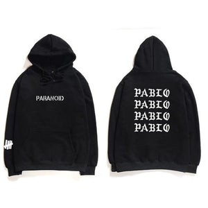 Trendy Punk Rock Men Hip Hop Hooded Sweatshirts The Life Of Pablodresskily-dresskily