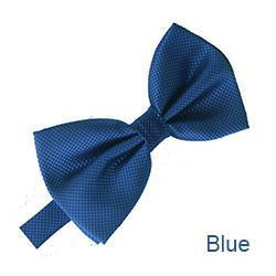 Men's Classic Men Bow Ties For Mens Bowtie Solid Bowtie Black Bowtiesdresskily-dresskily