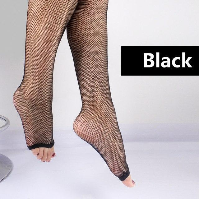 2017 Hot Women's fingerless Fishnet Stockings Ladies Toe Tights Girl mesh performdresskily-dresskily