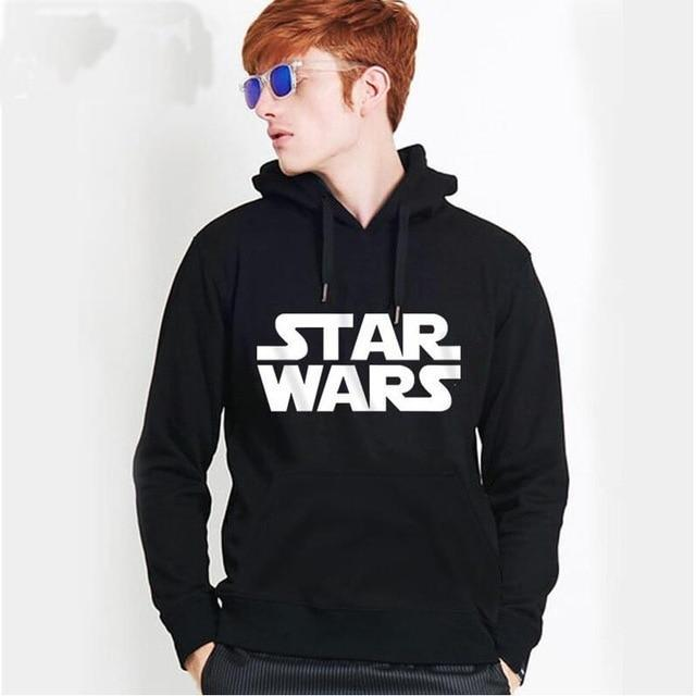 2016 new fashion casual man's hoody boy movie Star Wars casual Hiphopdresskily-dresskily