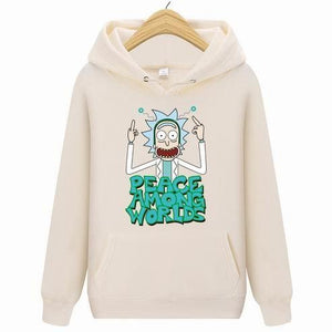 Rick Morty Hoodies Casual Long Sleeve Hoodies Streetwear Hip Hop Male Pulloverdresskily-dresskily