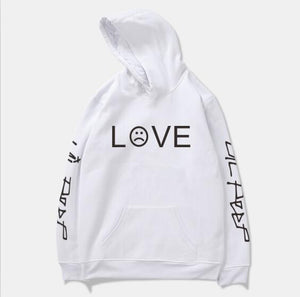 Newest Lil Peep R.I.P Lil Peep LOVE Men/Women Pocket Hoodies Love Hooddresskily-dresskily