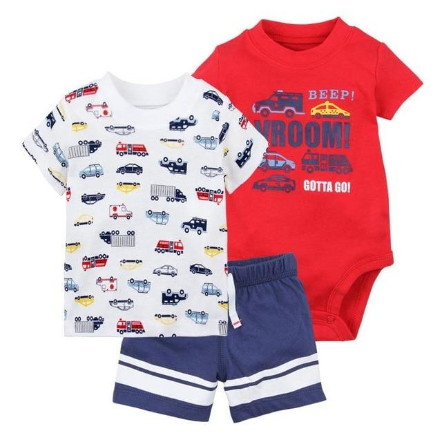 Orangemom official store 2018 summer baby boy clothing set Casuals sport babydresskily-dresskily