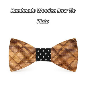 Mahoosive Boutique Metal Head Bow Ties For Groom Men Women Butterfly Soliddresskily-dresskily