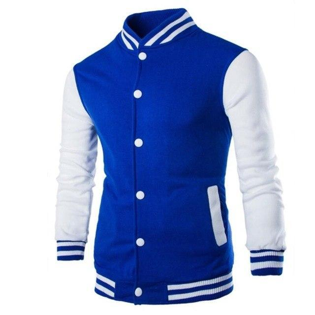 Wholesale Price 2018 Brand Baseball Jacket Men Sweatshirt College Sportswear Hoodies Casualdresskily-dresskily