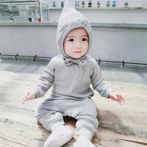 2018 Spring Autumn Long Sleeve Baby Romper Cotton Children Clothing 6M-3T Babydresskily-dresskily