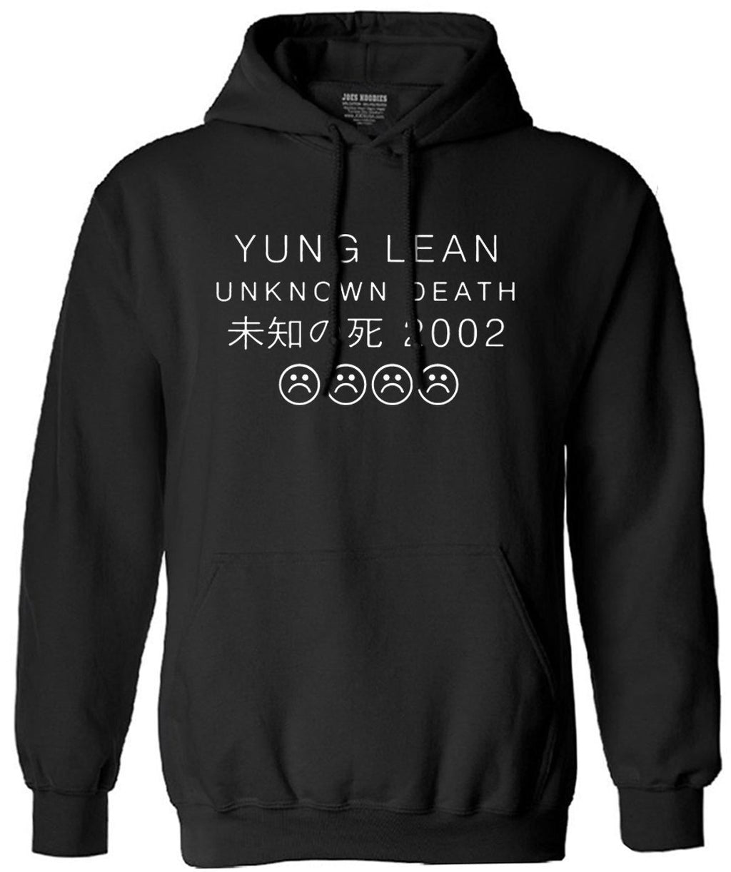 YUNG LEAN UNKNOWN DEATH Sad Boys sweatshirt Men Cotton long Sleeve autumndresskily-dresskily