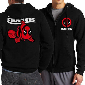 The Punisher Skull Men's Sweatshirt 2018 Autumn Winter Men Zip Hoodies Tracksuitdresskily-dresskily