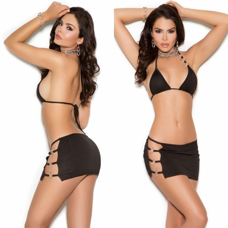 Sexy Lingerie Hot Women Bra Set Black Sexy Underwear Set Sexy Bradresskily-dresskily