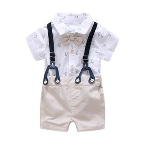 0-24M Newborn Clothes Set Formal Suit for Baby Boy Clothes Set Softdresskily-dresskily