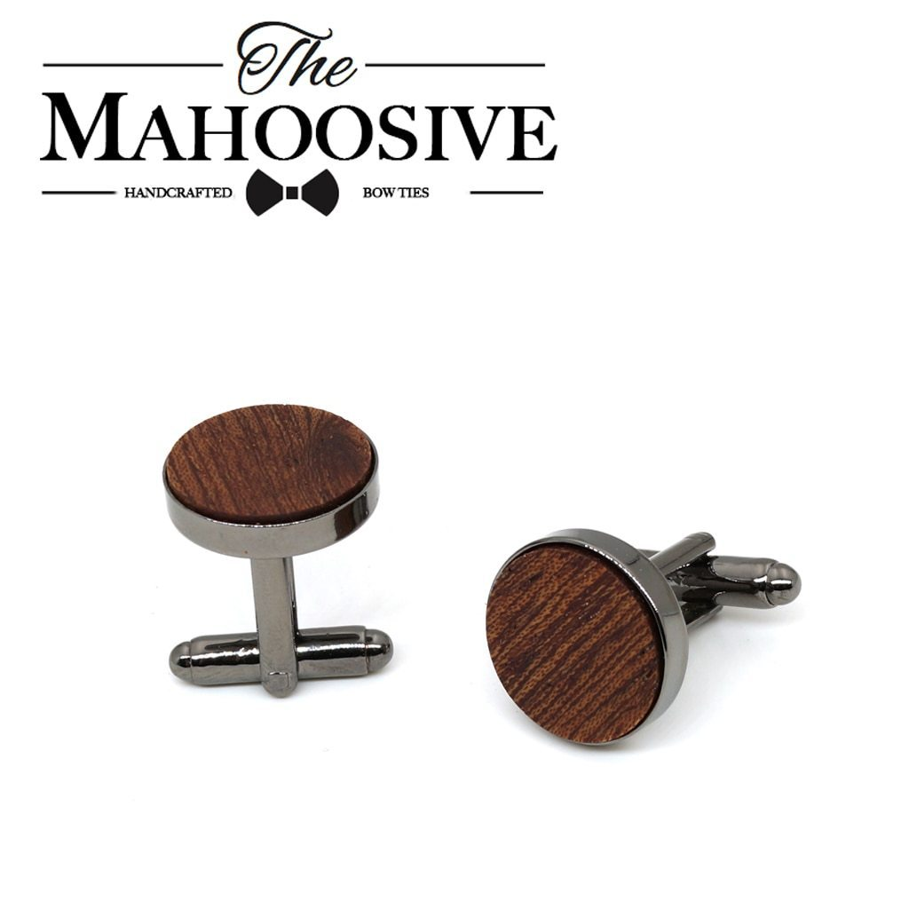Wood fashion shirt cufflink for mens gift Brand cuff button Blackdresskily-dresskily