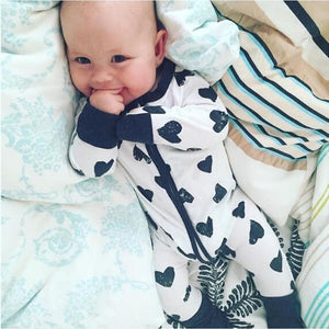 2018 Spring Summer Baby Rompers Love Lips Print Jumpsuit Baby Toddler Boysdresskily-dresskily