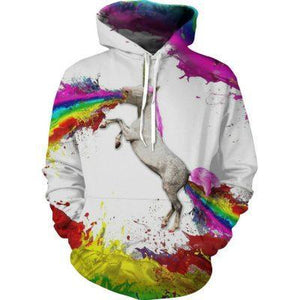 Drop shipping 2018 new Fashion Hoodies Hot 3d Hoody Food Printdresskily-dresskily