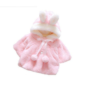 Winter Coat Lovely Solid Color Fashion Baby Girls Clothes Latest Doll Clothesdresskily-dresskily