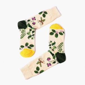 New jacquard Socks Hot Sale Cotton 9 Patterns Funny Women Firedresskily-dresskily