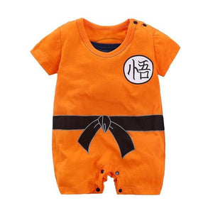 Baby Clothes 2018 New Newborn Rompers Dragon Ball Summer Cartoon Printdresskily-dresskily
