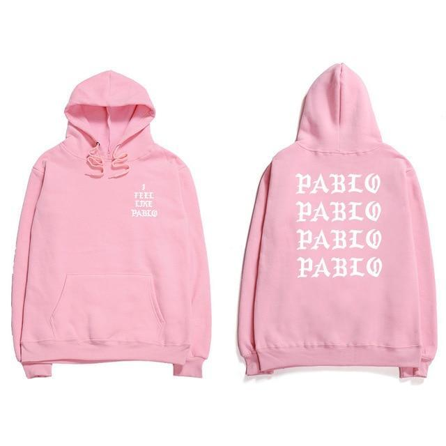 Assc Hip Hop Hoodies Men I Feel Like Pablo Kanye West Streetweardresskily-dresskily