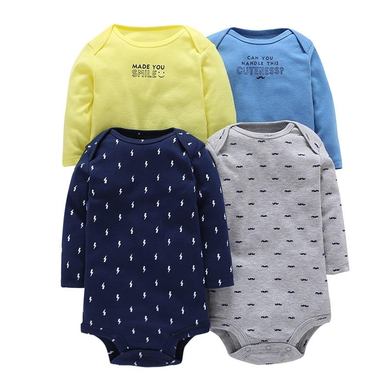 Baby newborn clothes long sleeve jumpsuit for baby girls and boys cottondresskily-dresskily