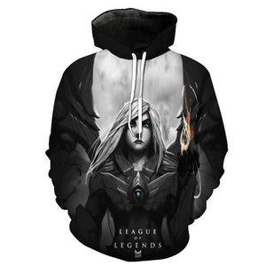 Fashion Brand 3D Hoodies for men 3d Hooded Sweatshirts Yasuo thedresskily-dresskily