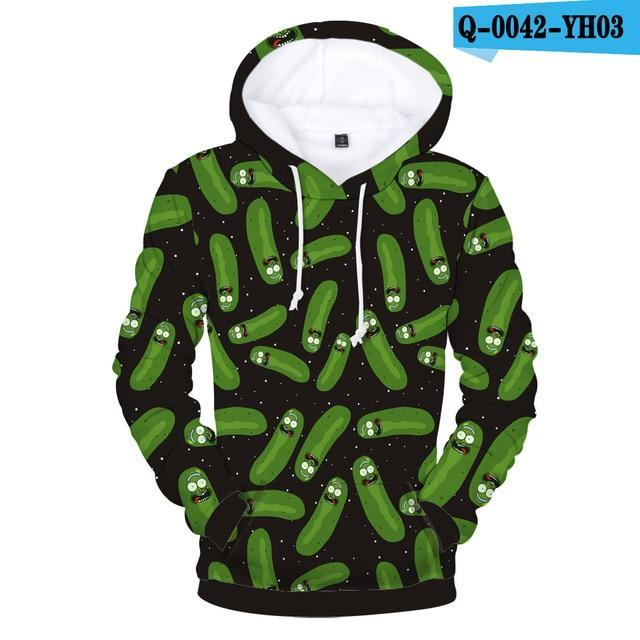 Rick And Morty Hoodies 3D Print Women/Men Sweatshirts Anime Style Men/Womendresskily-dresskily