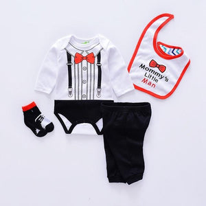 2018 animal style baby Clothing Sets cotton Infant boy clothes Newborn girldresskily-dresskily