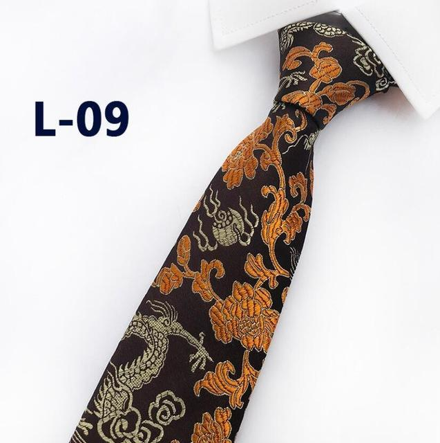 2018 New Arrival New Design Brocade Fabric Festive Chinese Dragon Pattern Weddingdresskily-dresskily