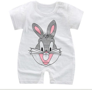 baby rompers new born baby clothes boys and girls summer dresskily-dresskily