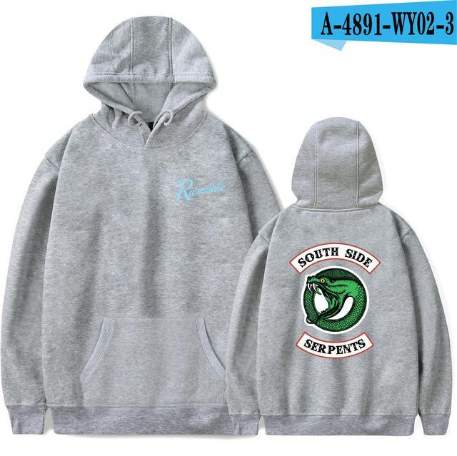 2018 New Riverdale Hoodie Hot TV Drama Men/Women Fashion Street Trend Hoodeddresskily-dresskily